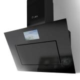 Наклонная вытяжка LEX Aurora 900 Black + TV